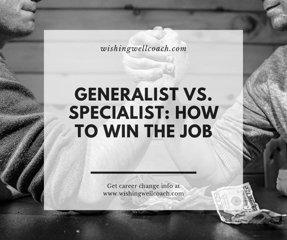 generalist vs specialist