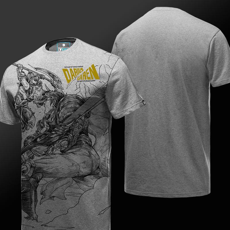League Of Legends LOL Garen VS Darius T Shirt Wishining