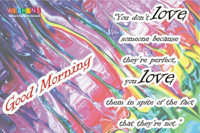 good morning quotes love you