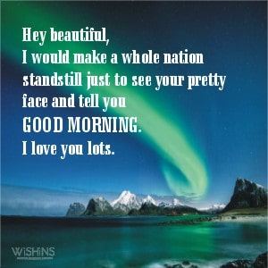 Beautiful Good Morning Message for Her