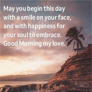 Good Morning Message for Her to Smile