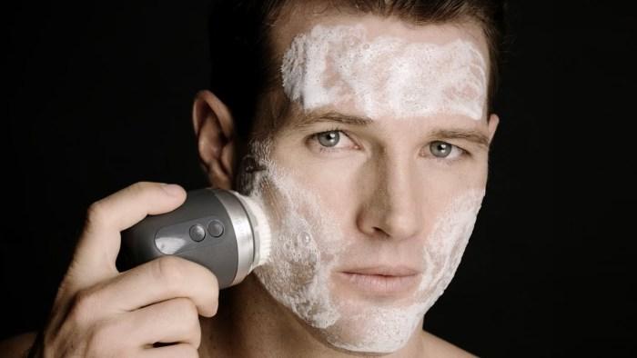 clarisonic Alpha Fit homme bross visage