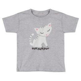 Purring Soft Kitty | Kids Short Sleeve T-Shirt