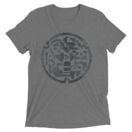Manhole Cover | Short sleeve t-shirt