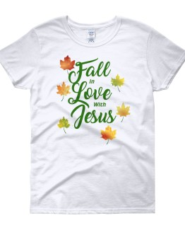 Fall in Love with Jesus Women's short sleeve t-shirt