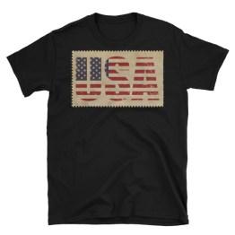 USA Vintage Look   Short-Sleeve Unisex T-Shirt
