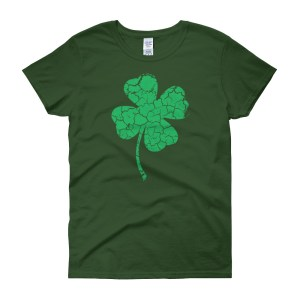 Four leaf clover shamrock