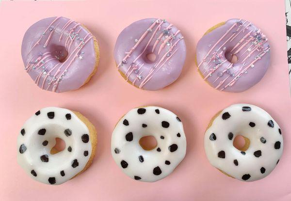 Baked Donut Tutorial
