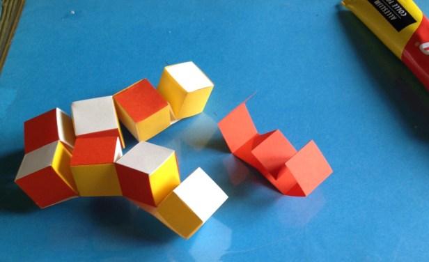 Bb kubus laatste stap