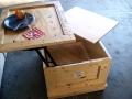 Coffee Table Crate Hidden Storage