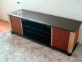 Reclaimed Tv Stand Opened