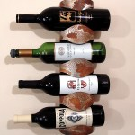 Wine Rack With Bottles