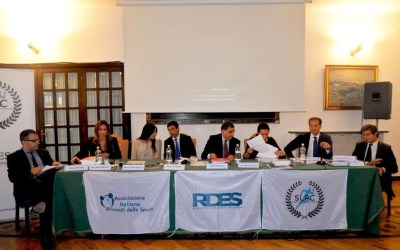 V General Assembly and Sports Law Conference of the Italian Sports Lawyers Association (AIAS) on October 12, 2018