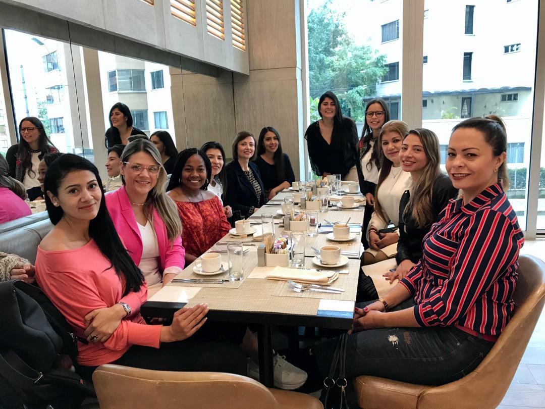 Breakfast Meeting in Medellin, Colombia - 12 March 2020