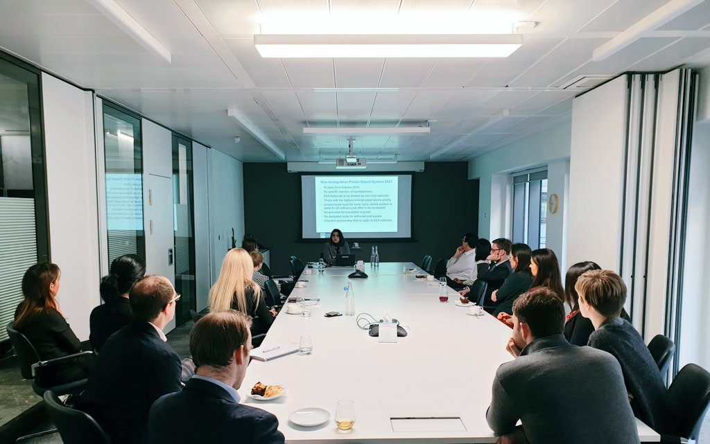 Impact of Brexit on SportsPeople and their Employers at Penningtons Manches Cooper, London UK - 6 March 2020