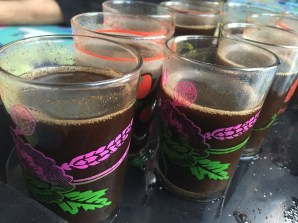 Kami disambut kopi Rinjani