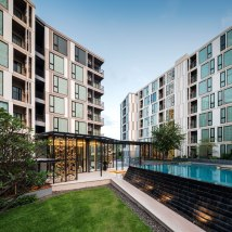 The Base Uptown Phuket Condominium by Sansiri. Architecture and Landscape design by Open Box.