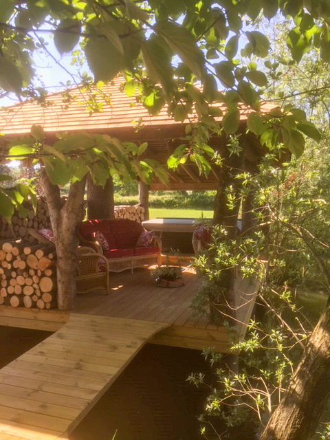 Red Snapper Hot Tub Deck