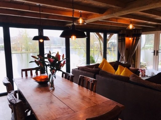The Boathouse Dining area