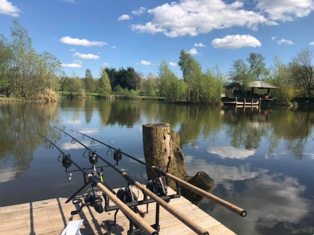Fishing at the Boathouse