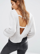 ASOS, Open Back Jumper, £22
