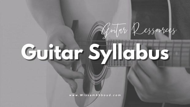 Guitar Syllaus