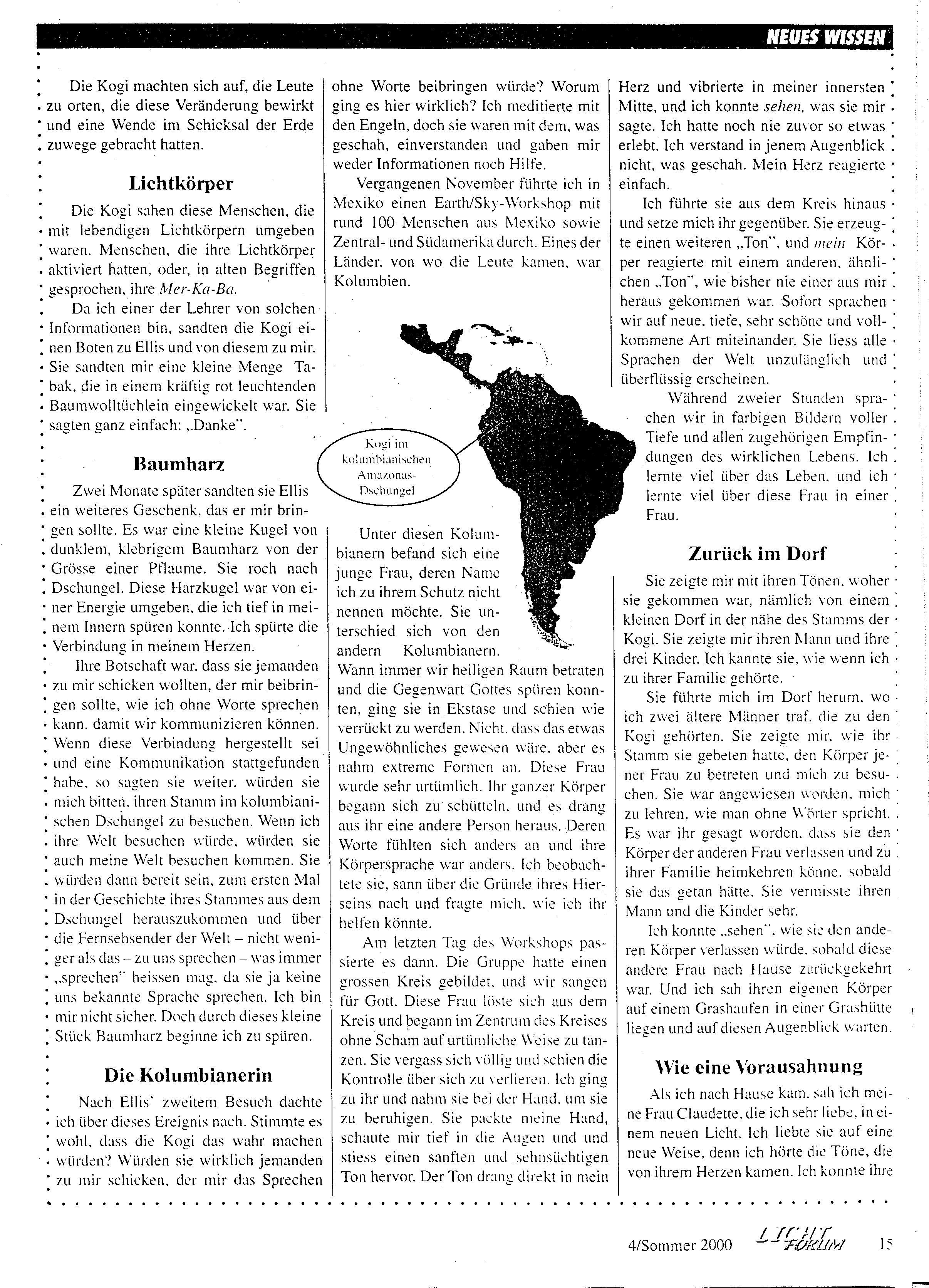 Kogi Story Deutsch