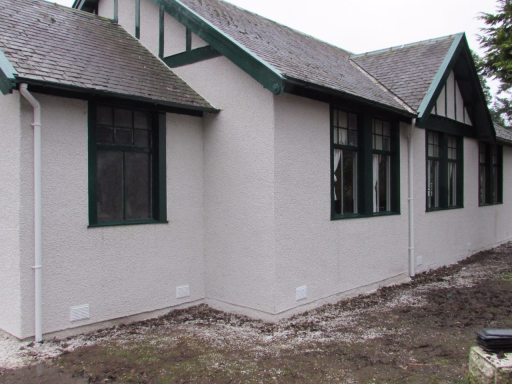 The finished Games Hall