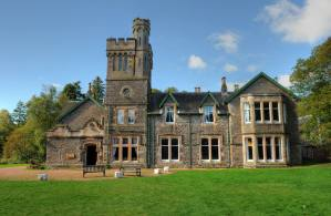 Exterior view of Wiston Lodge main building