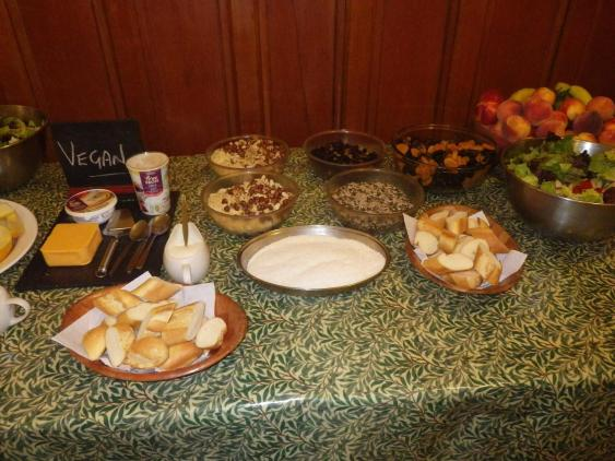 Catered per group