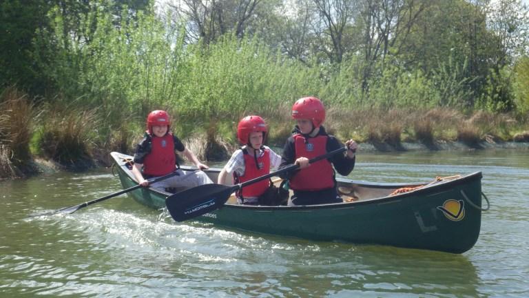 Canoeing/Raft Building