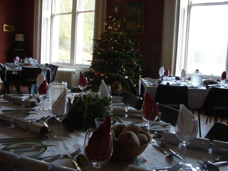 Large Lounge Christmas Meal