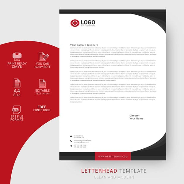 Business Letter Template Free