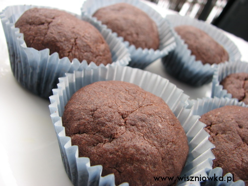 czekoladowe sufleciki