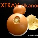 Jajko z niespodzianką – babeczka z jajeczka