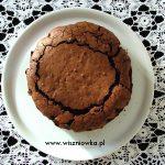 """Ciasto mocno czekoladowe z migdałami, czyli """"Torta Caprese"""""""