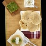 LAHUH – jemenicki chlebek z pasztetem brokułowym i sosem czosnkowym