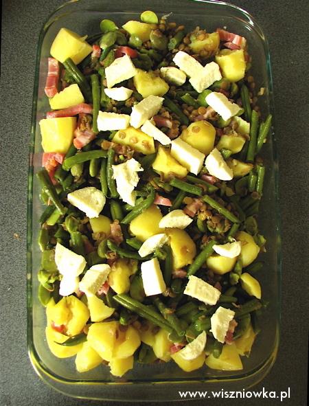 zapiekanka z letnich warzyw