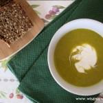 Włoska zupa krem z porów, dyni, ziemniaków i brokuła