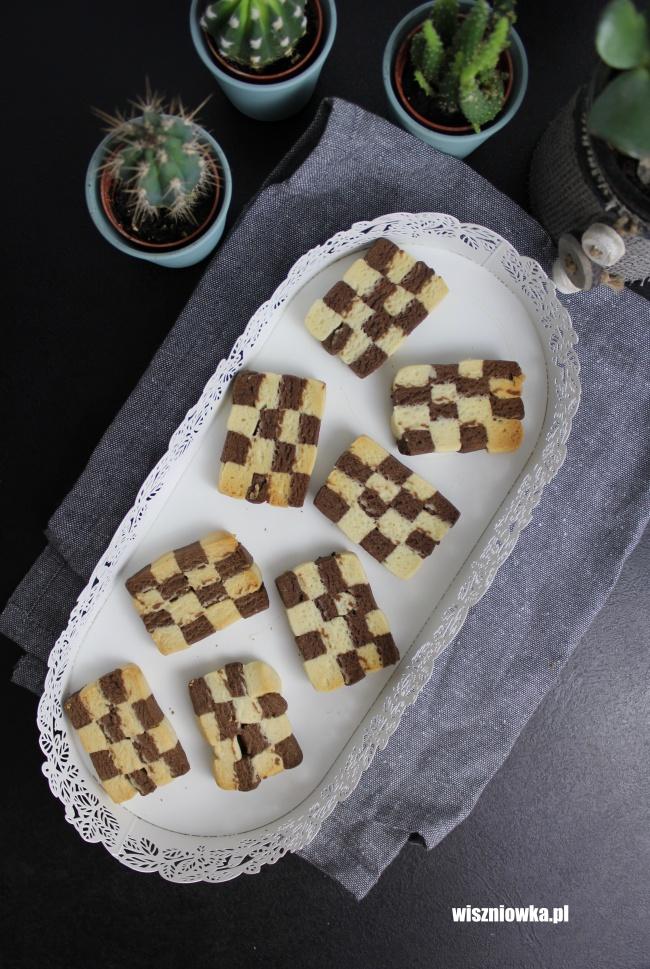 Ciasteczka Szachownica - niby nic, a jednak coś
