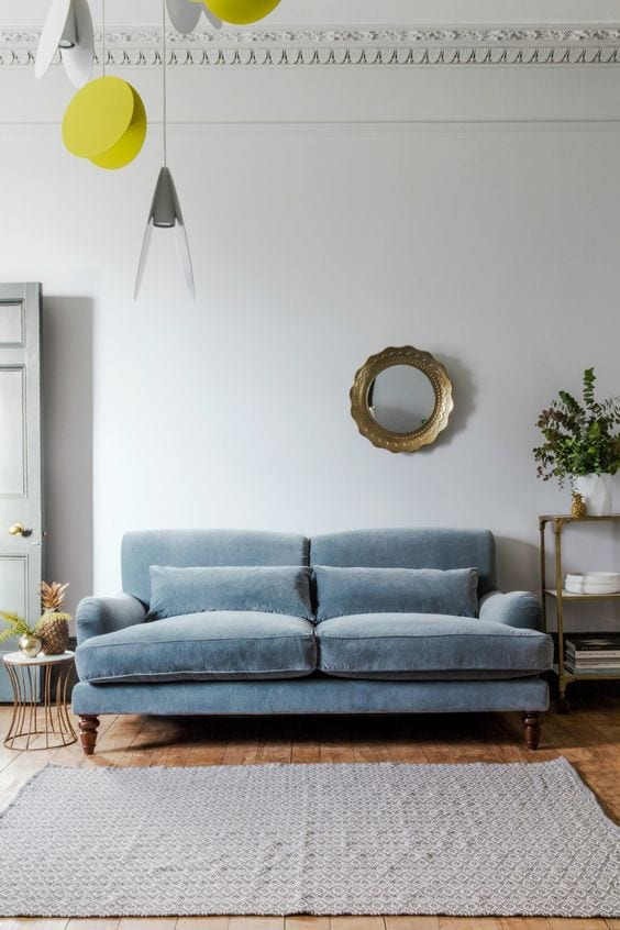 12 Rooms Where a Colorful Couch Totally Steals the Show – Wit & Delight