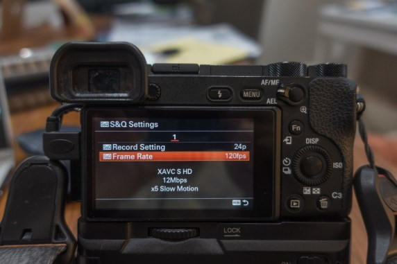 s&q settings menu - how to shoot slow motion with sony a6500 - witandfolly.co
