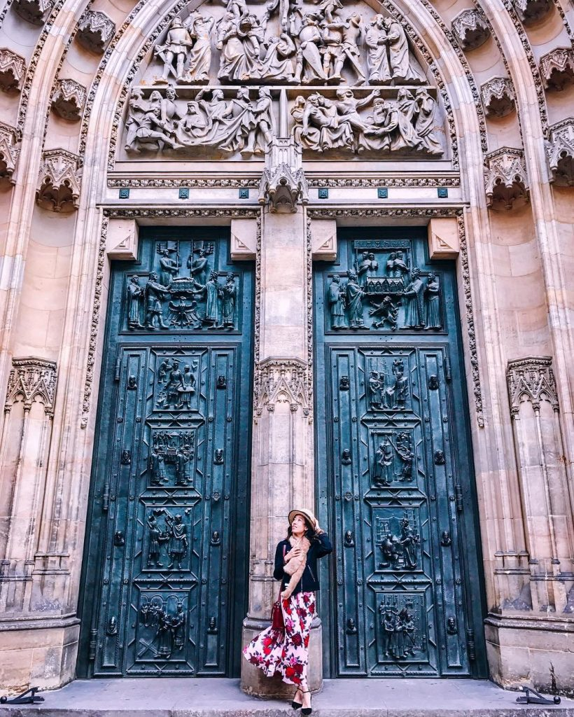 st. vitus cathedral door - witandfolly.co