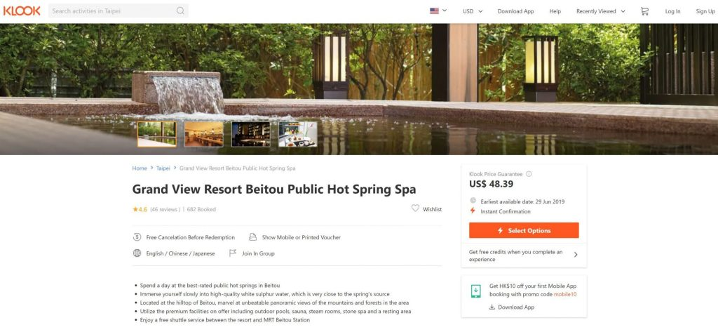 Grand View Resort Klook Travel Deal - witandfolly.co