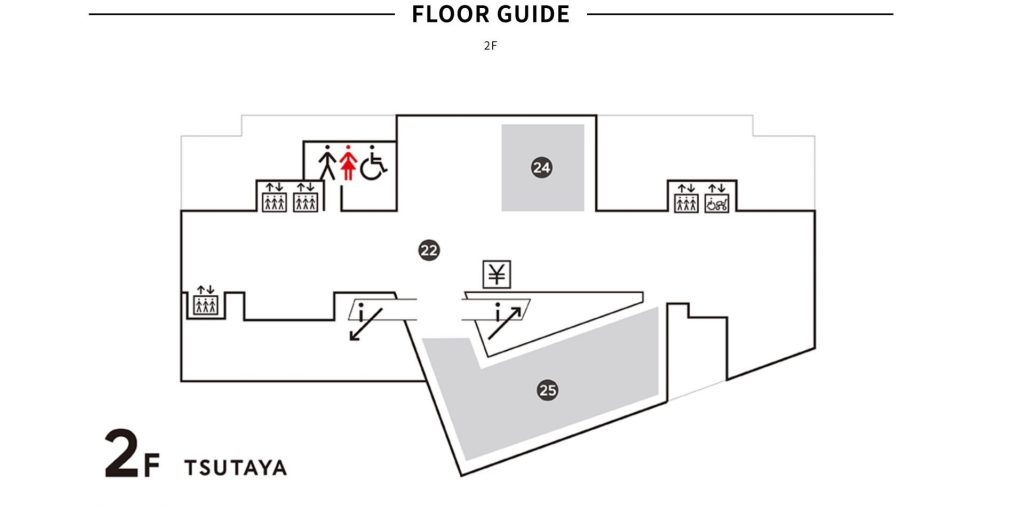 2nd Floor of Hirakata T-Site - witandfolly.co