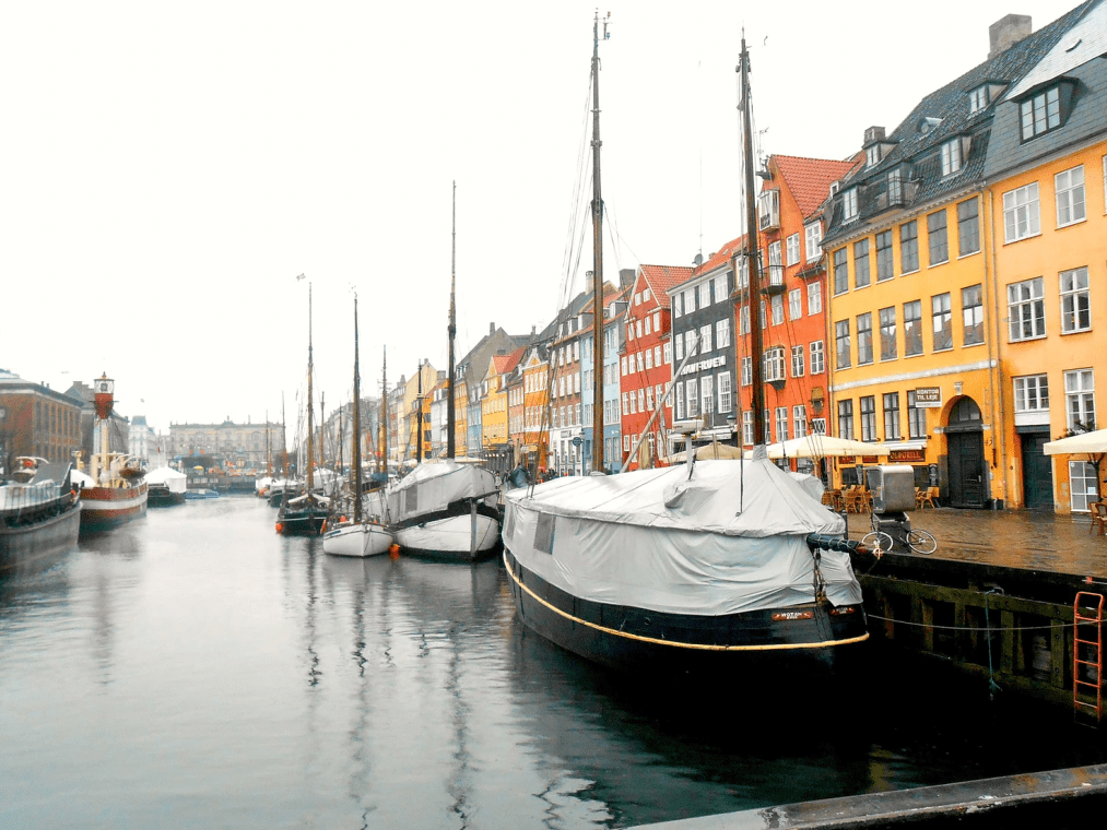 Copenhagen: the place we were en route to when disaster struck!