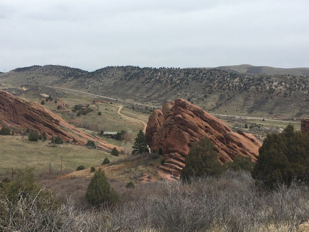Photo of the views at Red Rocks scenery in Denver, Colorado
