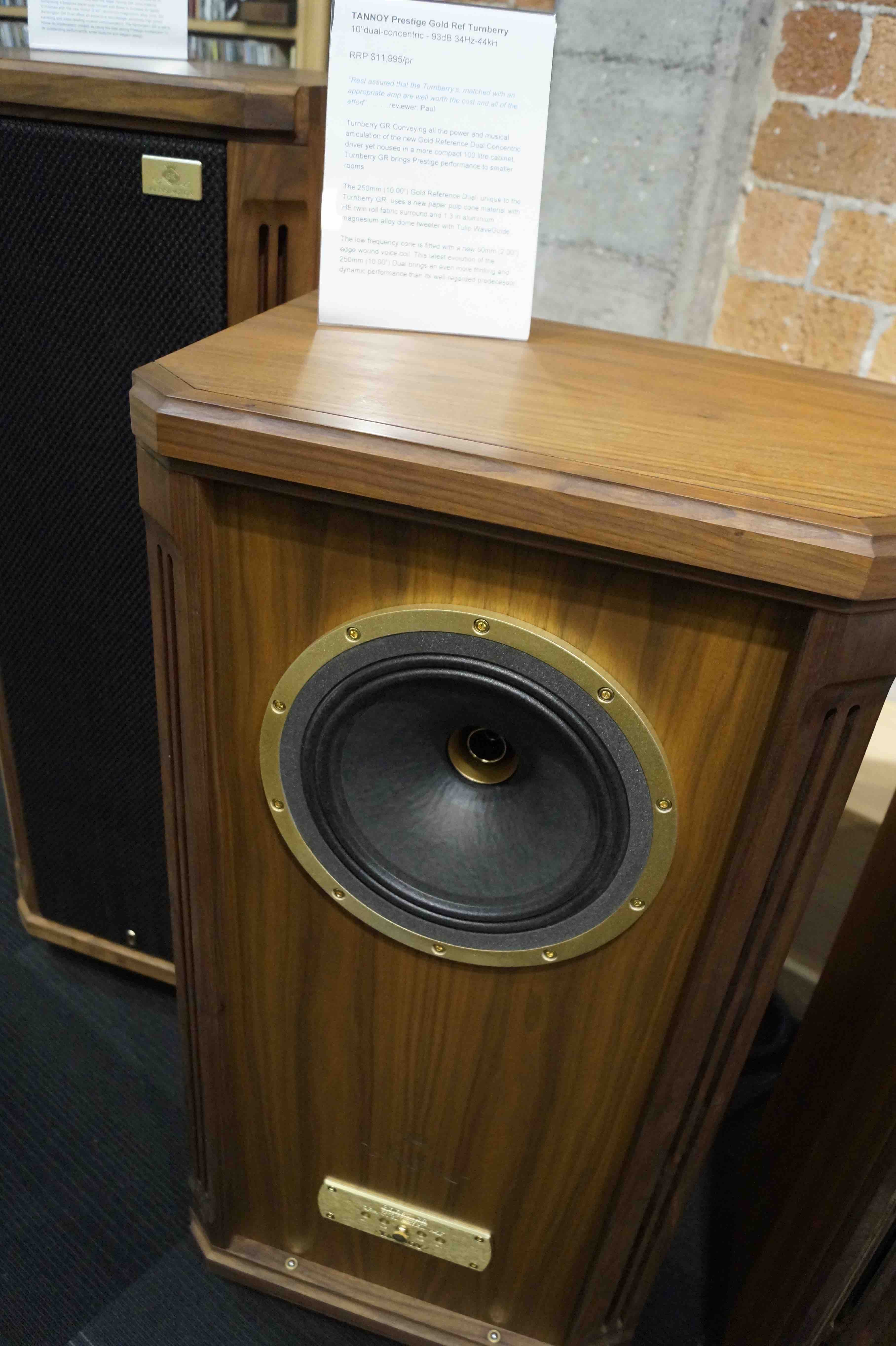 tannoy prestige gold reference series first listen. Black Bedroom Furniture Sets. Home Design Ideas