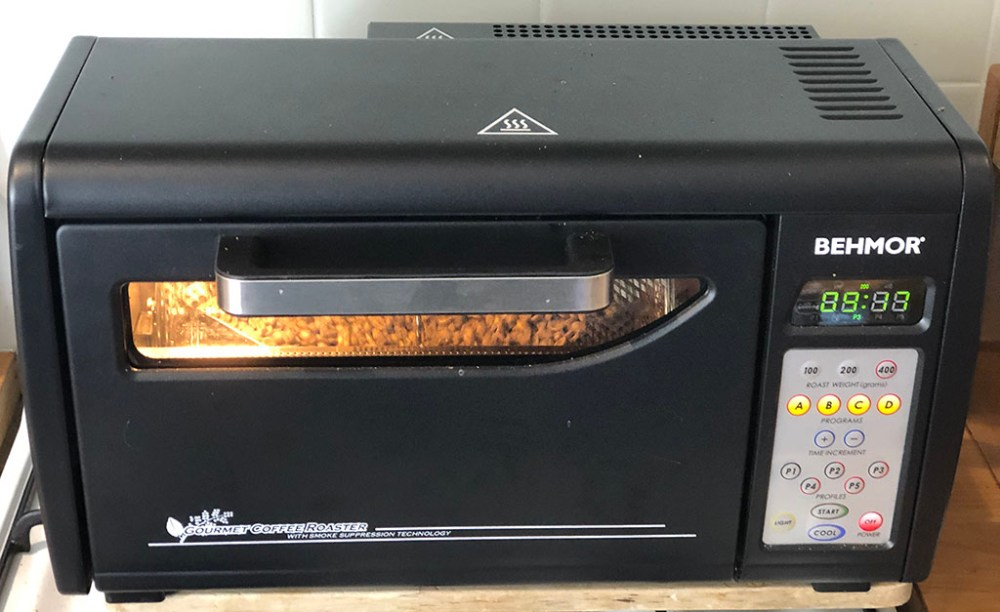 Behmor AB Plus coffee roaster review