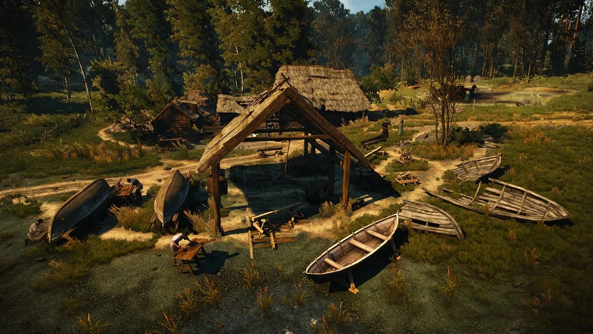 Boatmakers Hut The Official Witcher Wiki
